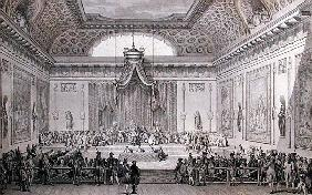 Assemblee des Notables Presided over Louis XVI (1754093) 1787
