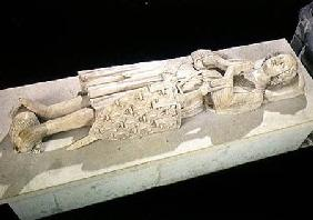 Effigy of Robert II (1250-1302) Count of Artois