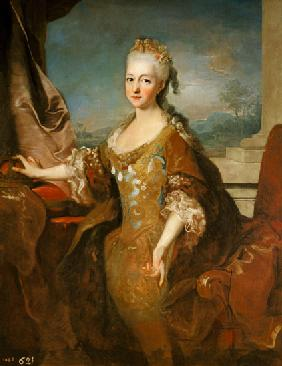 Portrait of Louise-Elisabeth d'Orleans (1709-42)