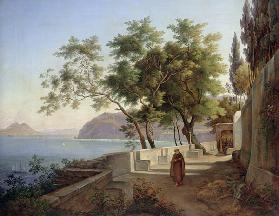 The Terrace of the Capucins in Sorrento