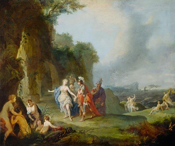 Dido and Aeneas escape... Dido And Aeneas Cave