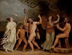 Dance of the fauns and Mänaden