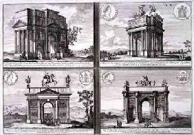 The Triumphal Arch of Catulus and Marius at Orange, The Arch of Domitian, the Arch of Drusus and the
