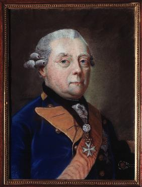Portrait of Henry Frederick, Prince in Prussia, Margrave of Brandenburg Schwedt (1771–1788)