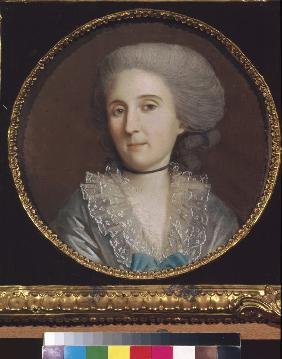 Portrait of Princess Natalya Vladimirovna Saltykova (1737-1812)