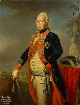 Frederick William II of Prussia, c.1770