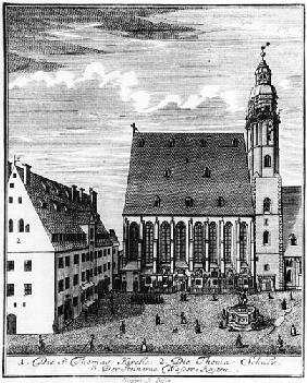 St. Thomas Church and School in Leipzig