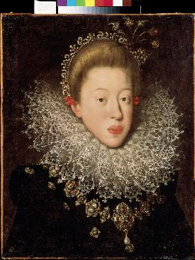 Portrait of Holy Roman Empress Anna of Tyrol (1585-1618)