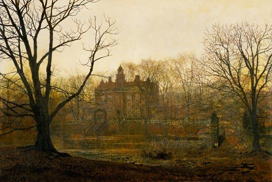 A Yorkshire Home John Atkinson Grimshaw As Art Print Or Hand