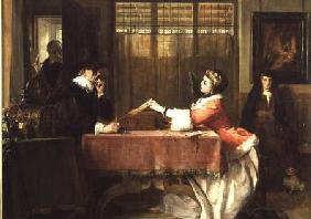 The Banker's Private Room, Negotiating a Loan
