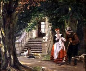 The Flirtation Outside the Master's House
