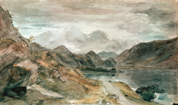 The Lake District John Constable As Art Print Or Hand