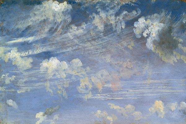 a study of clouds Recent developments in the study of droplet motion in turbulent flows  and of  the relationship between art and science in early cloud studies.