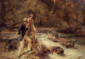 Landseer and Lewis Fishing