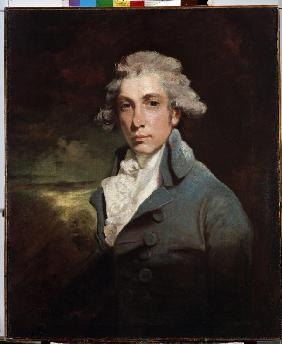 Portrait of the playwright and Whig statesman Richard Brinsley Sheridan (1751-1816)