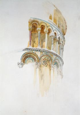 Apse of the Duomo, Pisa (pencil & w/c on paper)