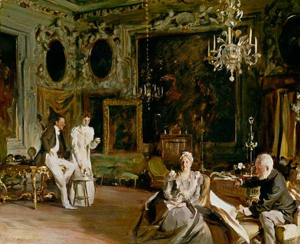 An Interior In Venice John Singer Sargent As Art Print