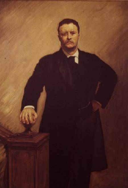 Portrait Of Theodore Roosevelt John Singer Sargent As