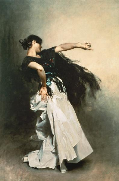 The Spanish Dancer, study for 'El Jaleo'