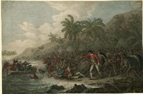 The Death of Captain James Cook on February 14, 1779
