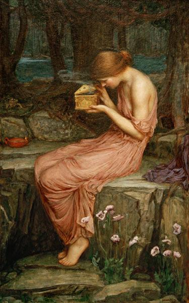J.W.Waterhouse, Psyche ..../ painting