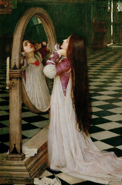 Tennyson, Mariana / painting, Waterhouse