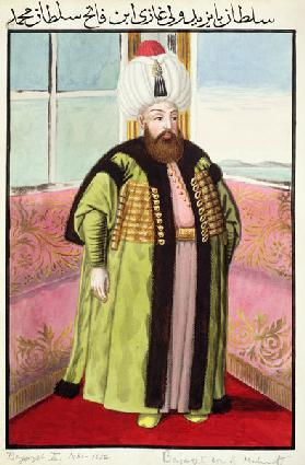 Bajazet (Bayezid) II (c.1447-1512) called 'Adli', the Just, Sultan 1481-1512, from 'A Series of Port