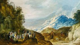 Momper, Joos de : The Sermon on the Mount (f...