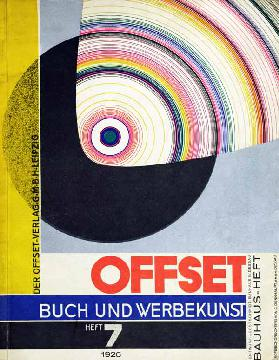 Cover of issue number 7 of Offset Buch und Werbekunst 1926