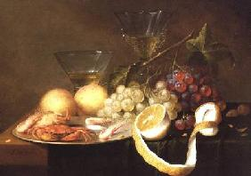 A still life with glasses
