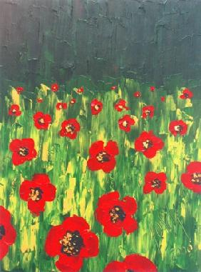 Poppy-seed meadow l