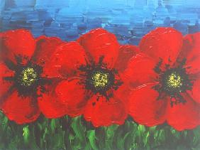 Red poppy ll