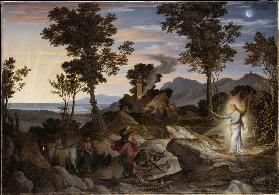Landscape with the Prophet Balaam and his donkey