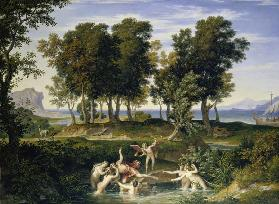 Landscape with the Rape of Hylas