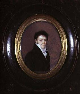 Portrait Miniature of a Gentleman
