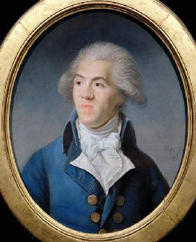 Portrait presumed to be Antoine Barnave (1761-93)