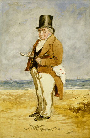 Full Length Portrait Of Joseph Mallord William Turner, R
