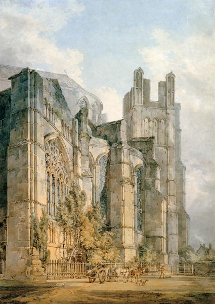 Turner St Anselm S Chapel Canterbury William Turner As