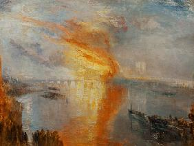 The Burning of the Houses of Parliament (October 16th, 1834) 1835