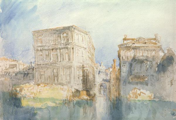 W.Turner, Venice: The Casa Grimani...