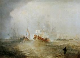 The Prince of Orange, William III, landed at Torbay, November 4th, 1688, after a stormy Passage