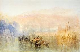 Turner / Venice, Entrance to Grand Canal