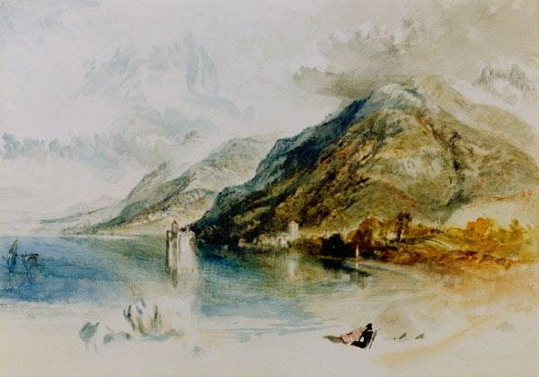 W.Turner, Schloß von Chillon
