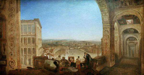 Rome seen by the Vatican 1820