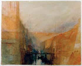 W.Turner, Venice, The Arsenal