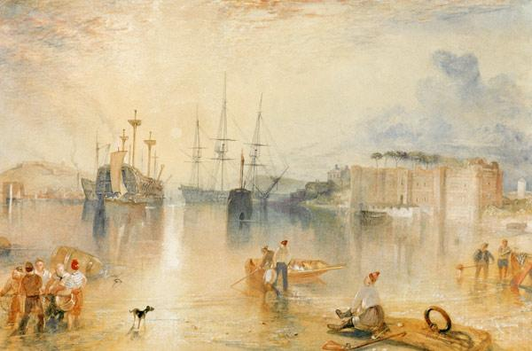 W.Turner, Upnor Castle