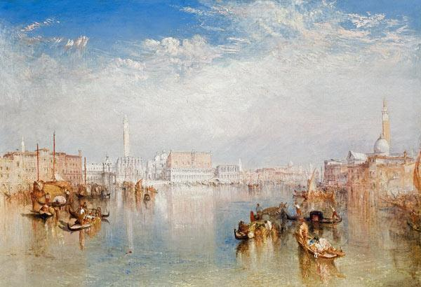 View of Venice: The Ducal Palace, Dogana and Part of San Giorgio