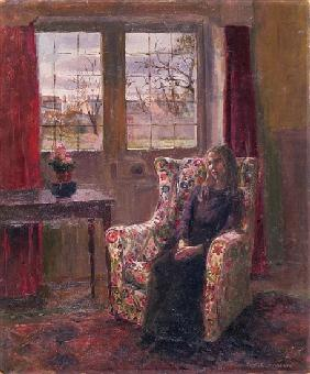 In the Armchair by the Window