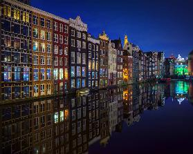 Amsterdam at night 2017