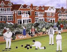 Bowling at Eastbourne